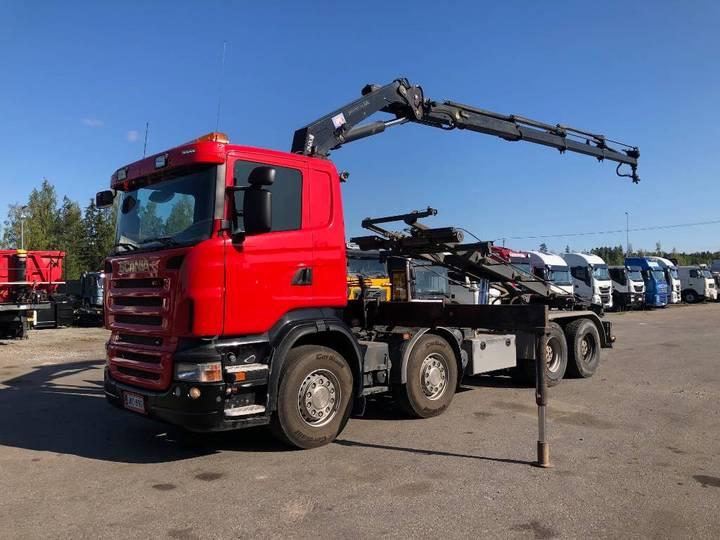 Scania R500 8x4 - 2005