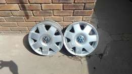 VW polo rims complete set