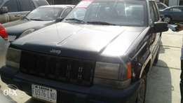 Jeep Cherokee registered