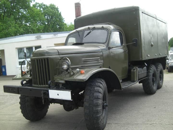 ZIL 157  (6x6) - 1963