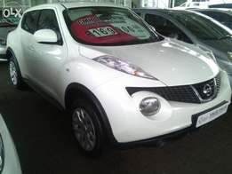 Finance available - 2013 Nissan Juke 1.6 Accenta