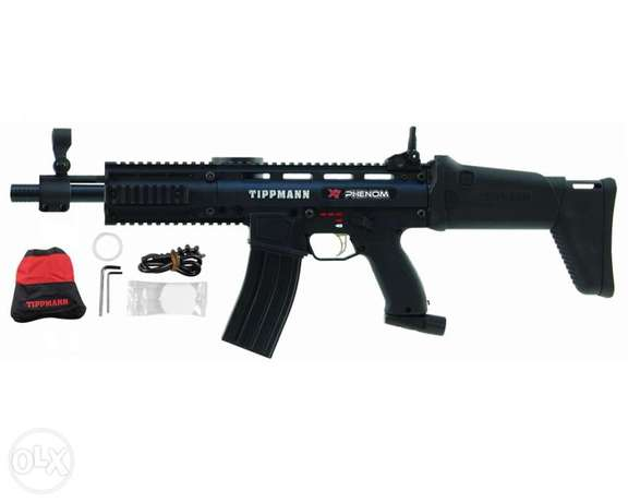 paintball gun tippmann x7 phenom assault + free vest