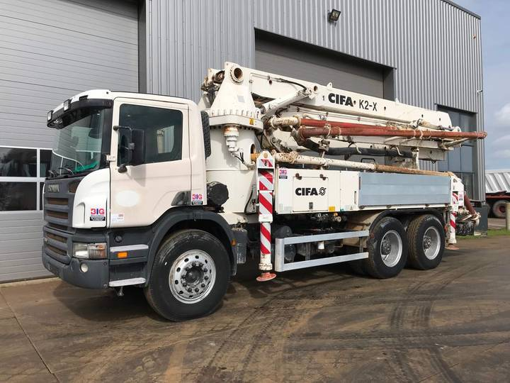 Scania P380 6x4 with CIFA K2-X 760 hours only! - 2009