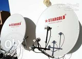 Dish antenna receivers installation available
