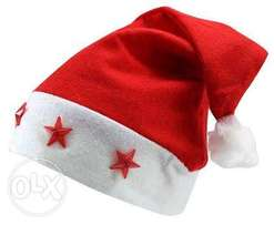 Christmas cap with lights