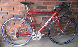 Trek road bike fully serviced with 54cm frame.
