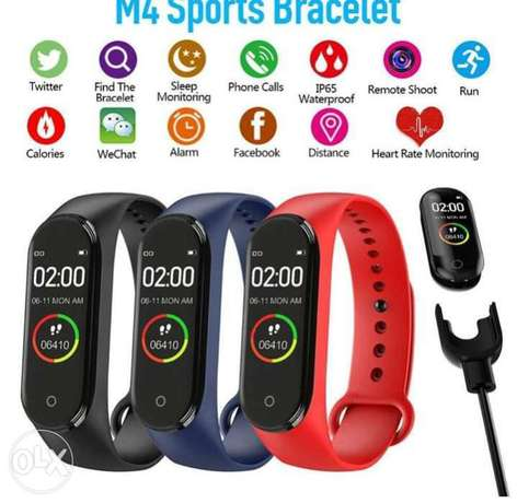 Smart watch m4 bandعرووض