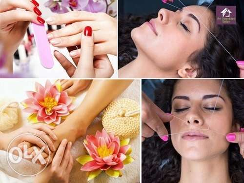 Beauty service at home