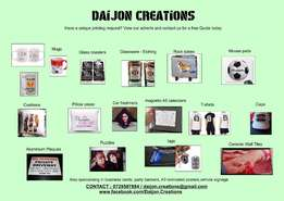 Daijon Creations - Quality, unique printing at your fingertips