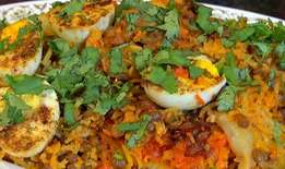 Fresh Curries and breyani available daily