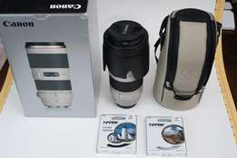 Canon EF 70-200mm f/2.8 L IS II USM Lens SHARP! INCLUDES UV Filter AND