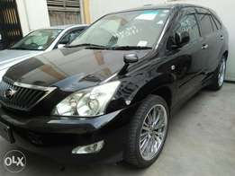 Toyota harrier black