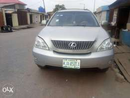 Just like tokunbo rx 330 Lexus jeep for sale first body
