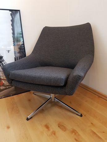 Fotele Bauhaus Lata 60 70 Prl Obrotowy Muszelka Loft