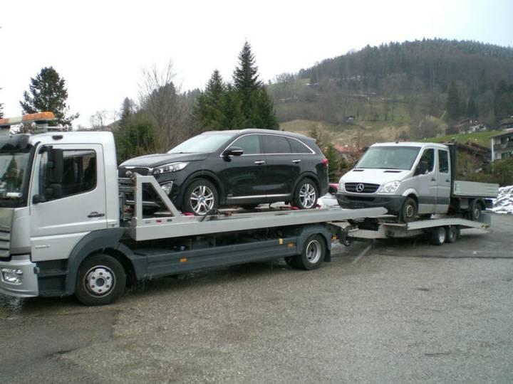 Mercedes-Benz 1224 L Atego Doppelstock mit FGS TTL35 Anhänger - 2016 - image 14