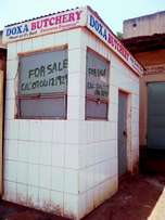 Butchery for sale. Also suitable for a diary or mobile money business.
