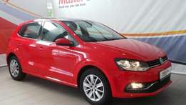 2015 Volkswagen Polo GP 1.2 TSI Comfortline Hatch + Sunroof