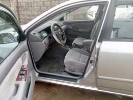 Very clean tokunbo Toyota Corolla 2004