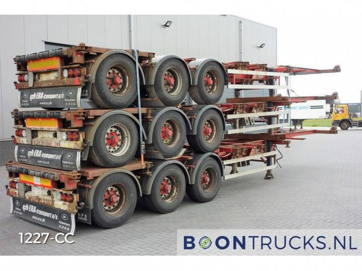 HFR *STACK OF 3* 20-30-40-45ft HC *EXTENDABLE REAR* - 2004