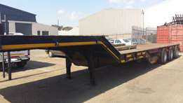 2006 Martin Tri Axle 45 Ton Stepdeck Lowbed Trailer for sale