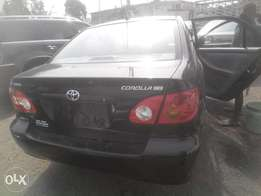 newly imported 2003,corolla,factory body,accident free