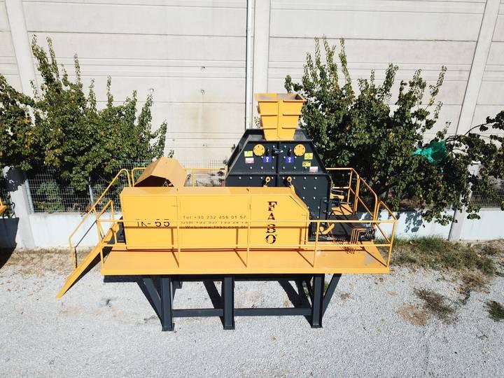 Fabo 70-120 TPH SERIES TK-65 TERTIARY IMPACT CRUSHER   SAND MACHINE