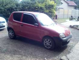 2002 fiat seicento S great condition