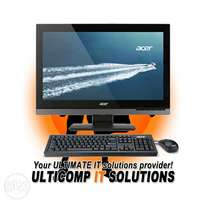 """Acer All-in-One PC 23.8"""" i5 1Tb 4Gb Win 10 Pro"""