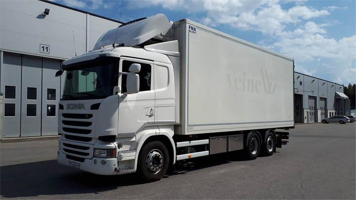 Scania R490 Fna-kori Luokat Uusittu 07/2019 - 2015