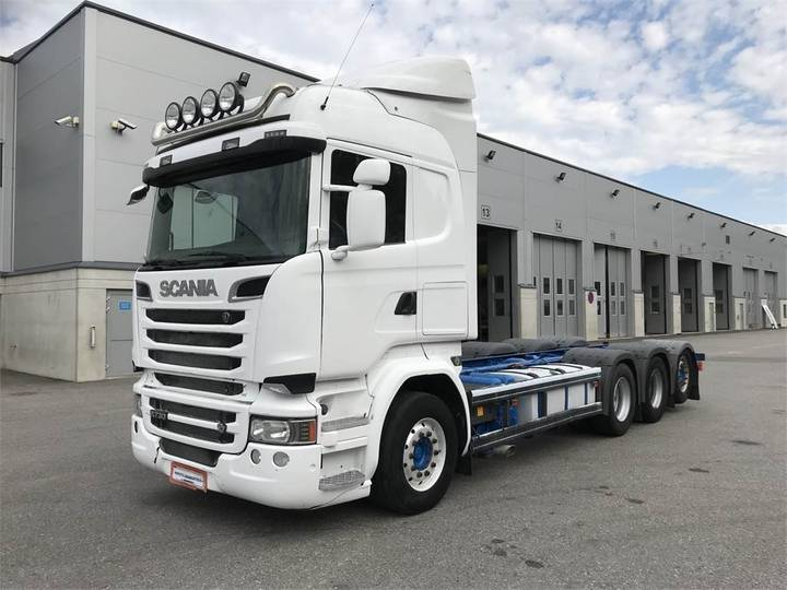 Scania R730 8x4 Alusta - 2014