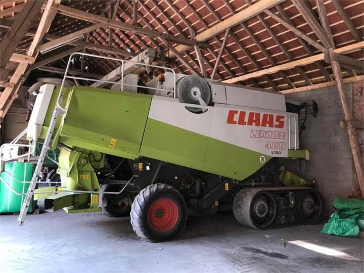 Claas Lexion 480 Tt - 2000