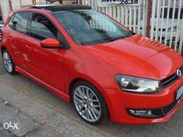 2014 vw polo 6 1.6 sunroof comfortline for sale at R175000