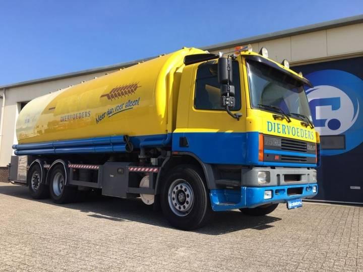 DAF Cf75 6x2 Silo Truck ( Bulk ,tank, Veevoer, Brokken, Pellets - 1998