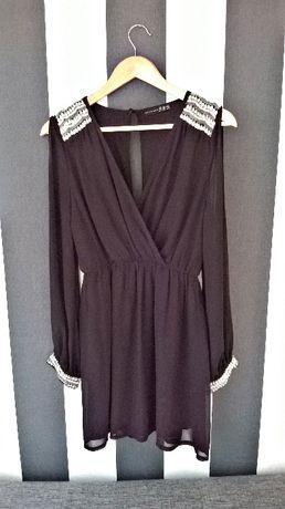 b68c22cfbe Czarna sukienka greczynka Sylwester Gdańsk Chełm z dzielnicą Gdańsk ...