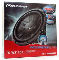 Pioneer speakers ts-w311d4