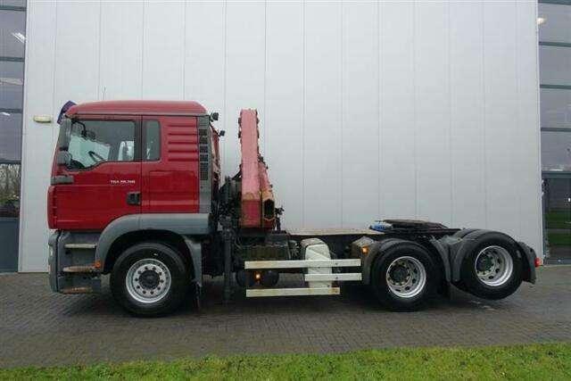 MAN Tga28.310 6x2 Crane/kran Hmf 1220 K4 Ual Euro - 2006 - image 5