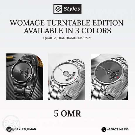 WOMAGE brand new design watch NOW AVAILABLE