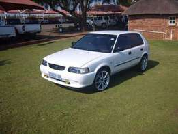 Toyota tazz on r14 000cash
