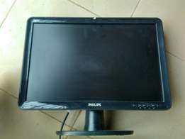 "Flat screen (18"") led monitor"