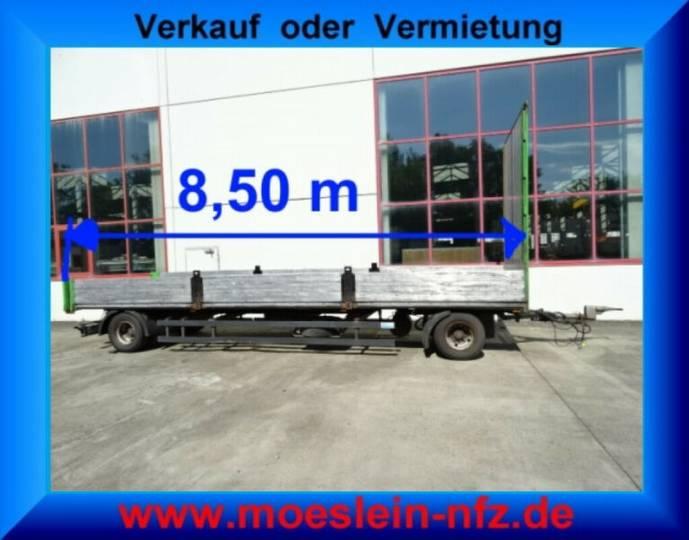 Schmitz Cargobull AFG 18 2 Achs Jumbo- Pritschenanhänger - 2011