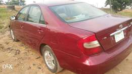 Toyota camry 2003 model working perfect.