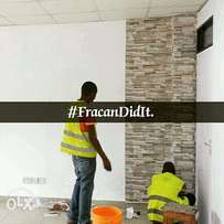 We are Abuja's finest wallpaper professionals. Book us now.