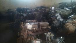 Engines + gearboxes