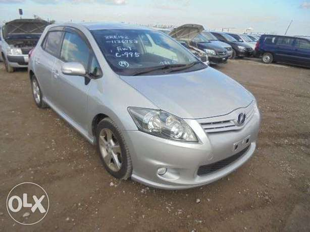 Toyota Auris Color Silver KCP number 2010 model Bamburi - image 1