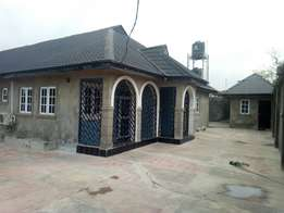 Tastefully finished twin 3 bedrooms bungalow for letting at gbekuba