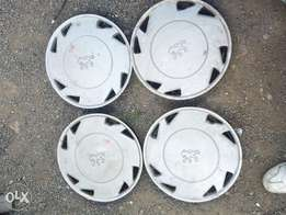 "Peugeot 205 13"" Wheel Covers ex uk"