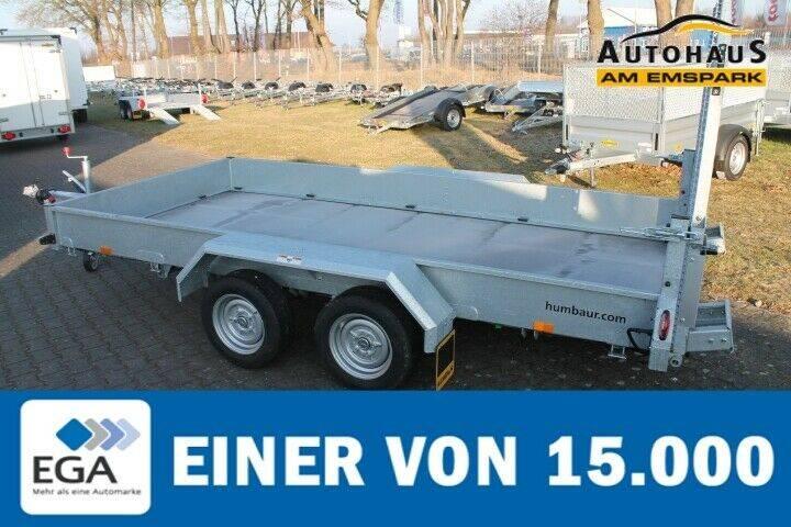 Humbaur HS 353718 3.5t, Tandemachser mit Stahlauffahrboh