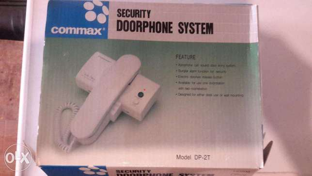 security door system Commax made in Korea