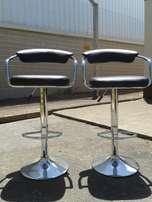 Two Bar Stools/Chairs