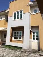 4bedroom semi detached duplex with BQ to let in Lekky County, Ikota